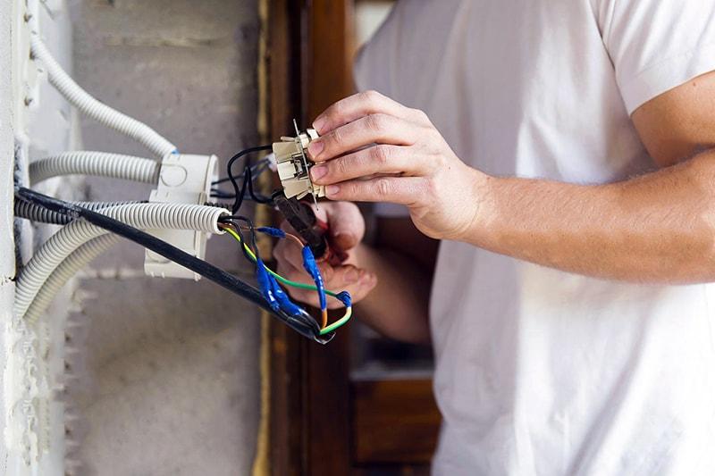 اصول سیم کشی ساختمان